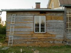 Pehmeä puuaines poistettuna
